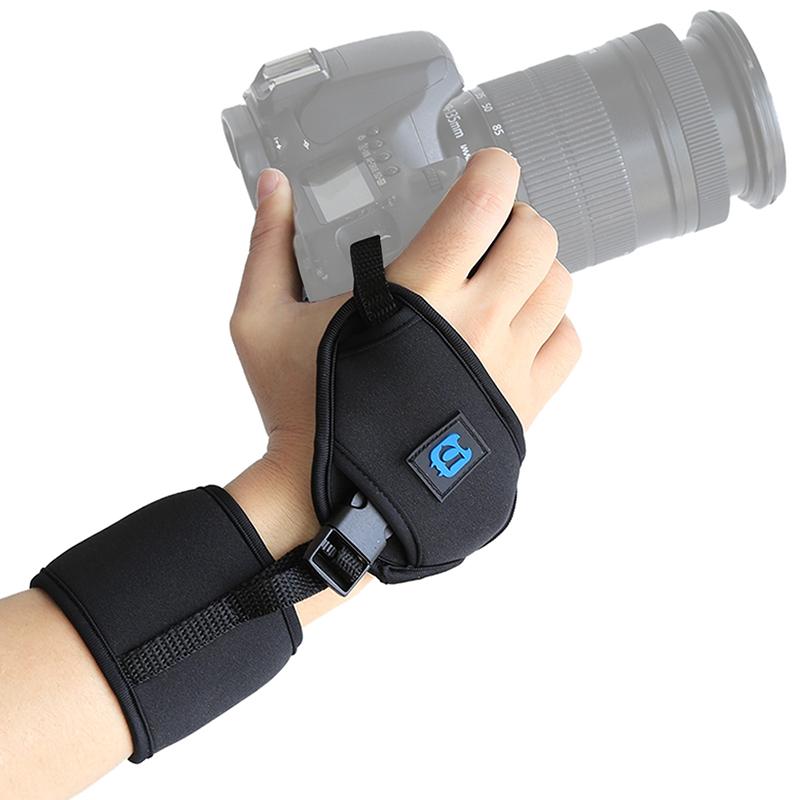 Купить Универсальный кистевой ремень PULUZ для фотоаппаратов SLR/DSLR