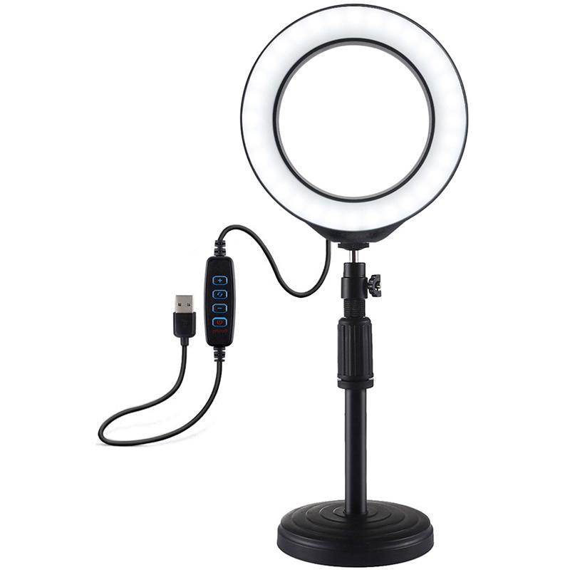 Купить Кольцевая USB LED лампа Puluz PU392 6.2