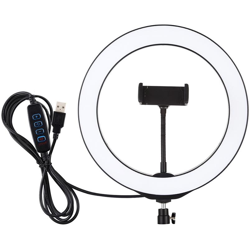 Купить Кольцевая USB LED лампа Puluz PU397 10.2