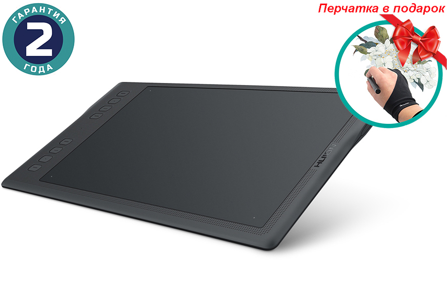 Купить Графический планшет Huion Inspiroy Q11K V2 + перчатка