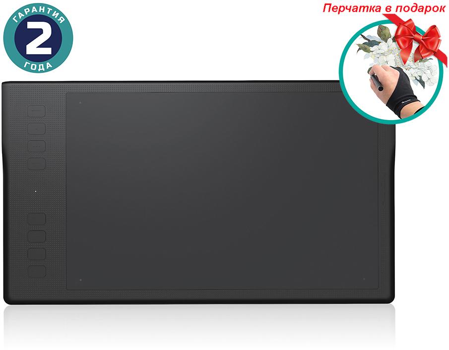 Купить Графический планшет Huion Inspiroy Q11K + перчатка