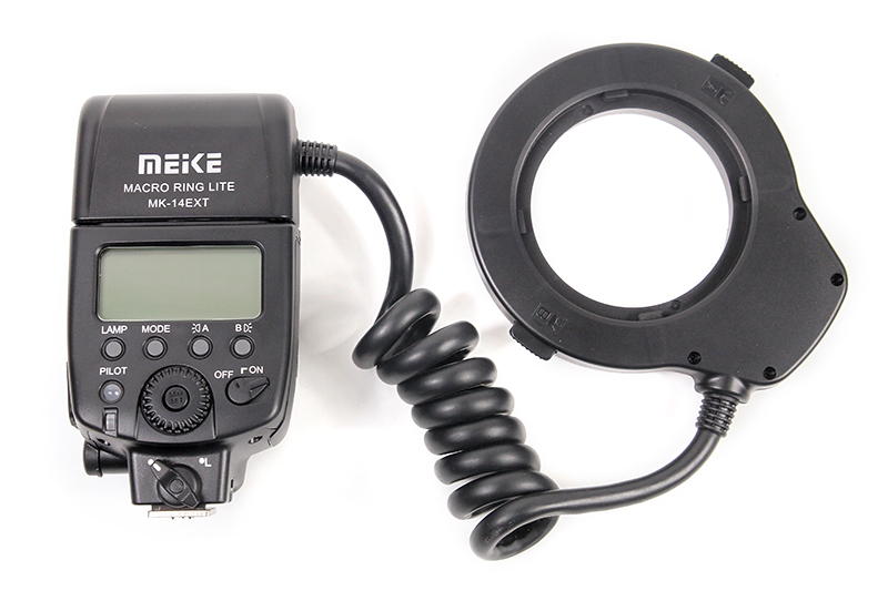 Купить Кольцевая макровспышка Meike для Nikon MK-14EXT