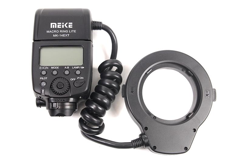 Купить Кольцевая макровспышка Meike для Canon MK-14EXT