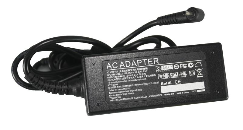 Купить Блок питания для ноутбуков PowerPlant SAMSUNG 220V, 12V 40W 3.3A (2.5*0.7)