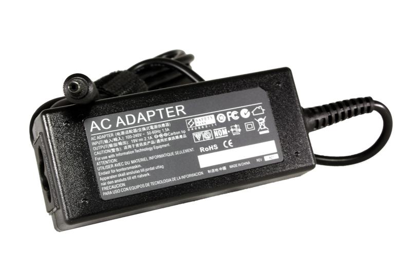 Купить Блок питания для ноутбуков PowerPlant SAMSUNG 220V, 19V 40W 2.1A (3.0*1.0)