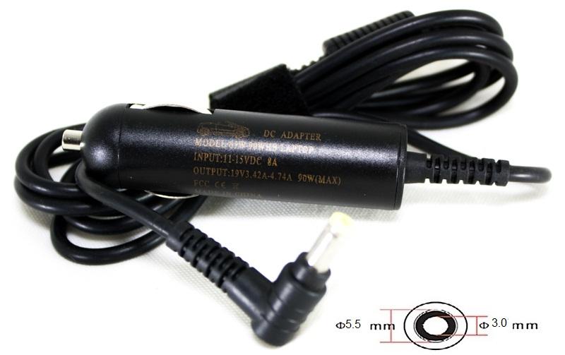 Купить Блок питания для ноутбуков PowerPlant SAMSUNG 12V, 19V 90W 4.74A (5.5*3.0) - автомобильный