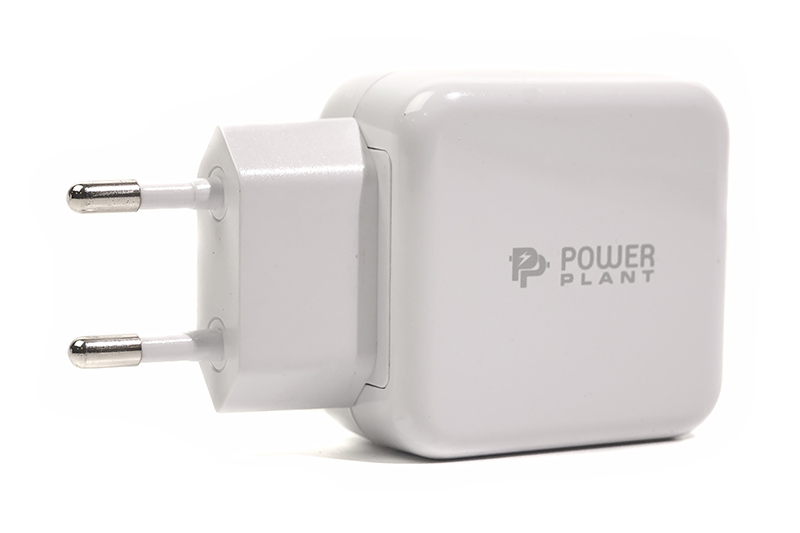 Купить Сетевое зарядное  устройство PowerPlant W-250 USB QC 3.0: 220V, 3A