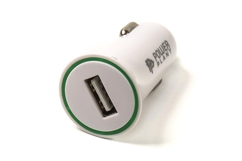 Купить Автомобильное зарядное устройство PowerPlant USB 12-24V 2.1A