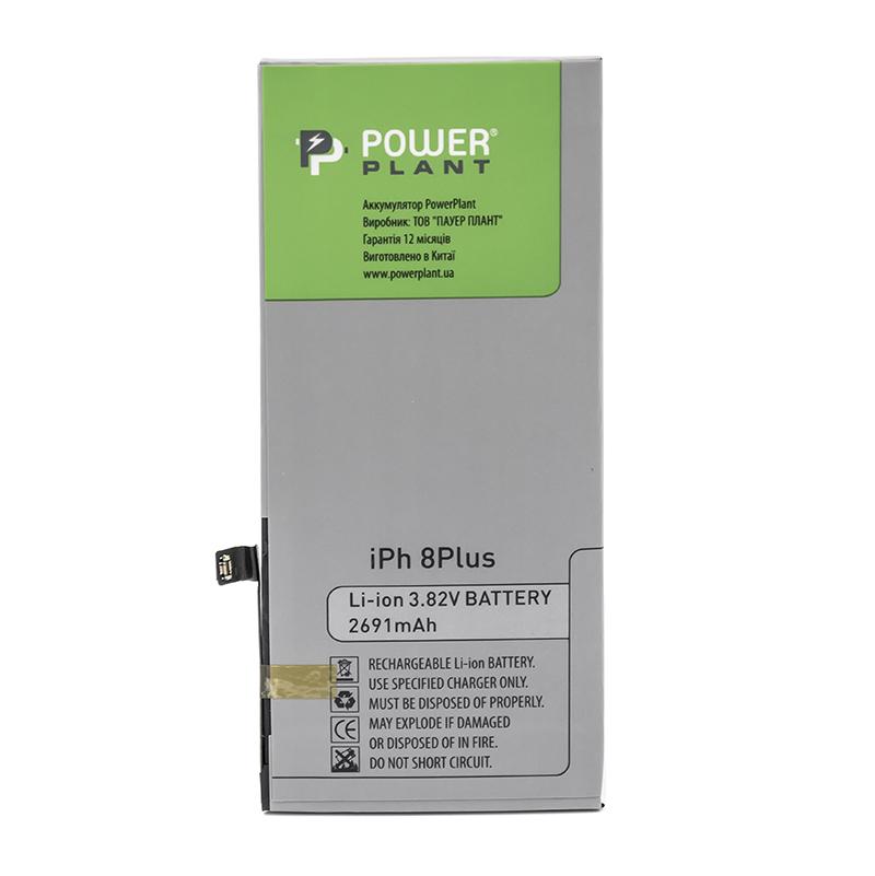 Купить Аккумулятор PowerPlant Apple iPhone 8 Plus (616-00367) 2691mAh