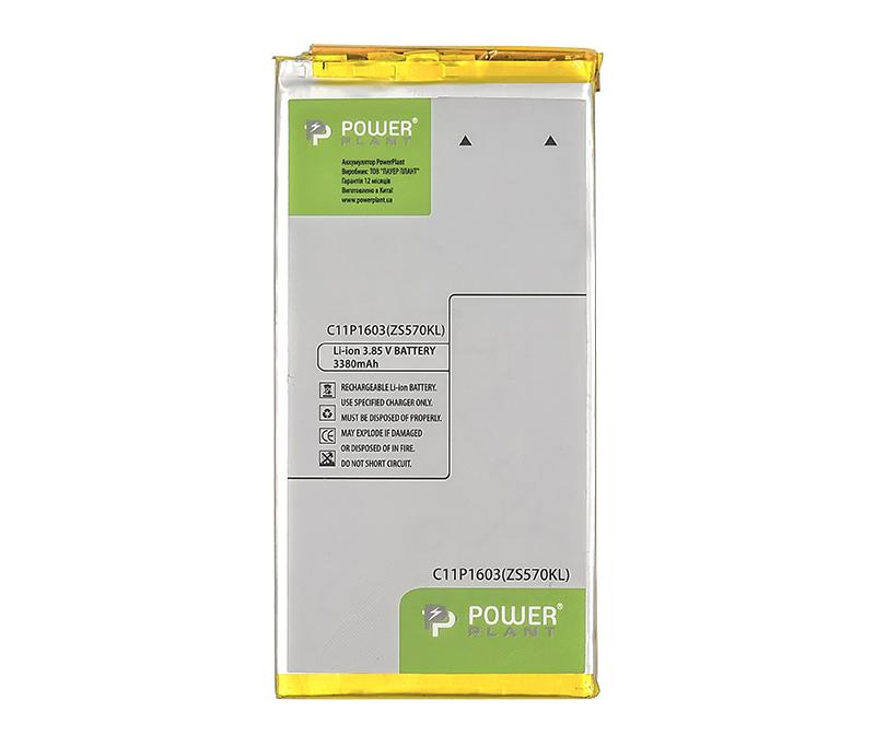 Купить Аккумулятор PowerPlant ASUS Zenfone 3 Deluxe (ZS570KL) (C11P1603) 3380mAh