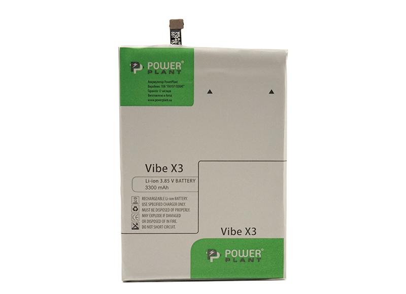 Купить Аккумулятор PowerPlant Lenovo Vibe X3 Lite (BL256) 3300mAh