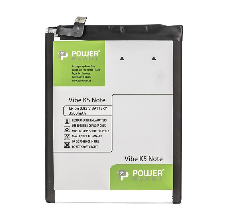 Купить Аккумулятор PowerPlant Lenovo Vibe K5 Note (BL261) 3500mAh