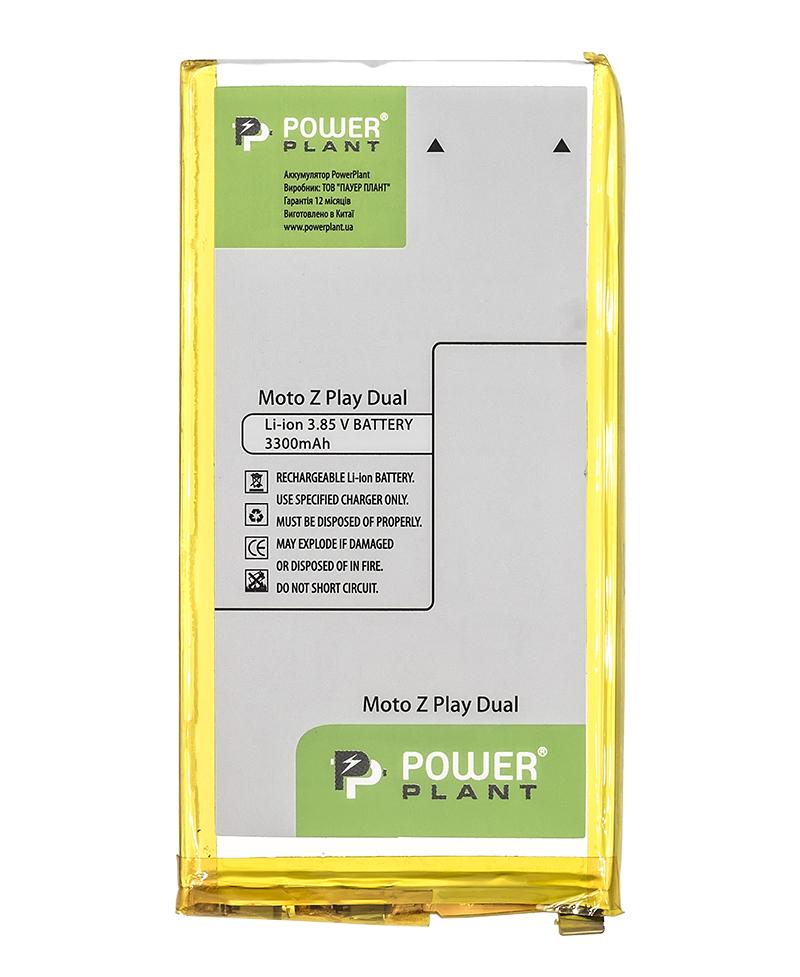 Купить Аккумулятор PowerPlant Motorola Moto Z Play Dual 3300mAh