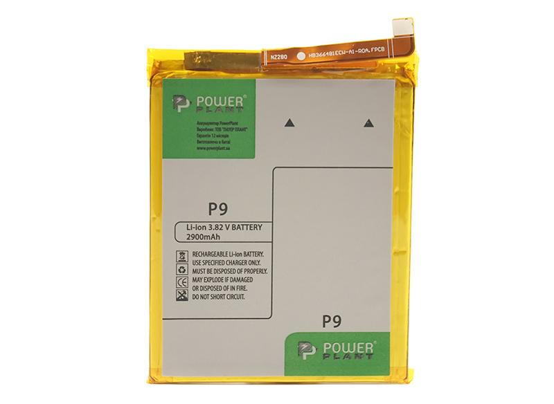 Купить Аккумулятор PowerPlant Huawei P9 (HB366481ECW) 2900mAh