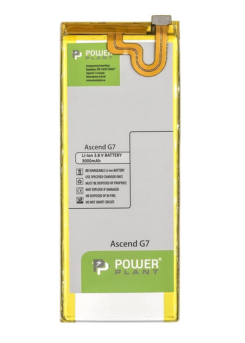 Купить Аккумулятор PowerPlant Huawei Ascend G7 (HB3748B8EBC) 3000mAh