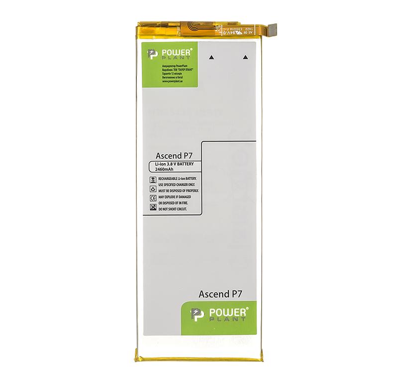 Купить Аккумулятор PowerPlant Huawei Ascend P7 (HB3543B4EBW) 2460mAh