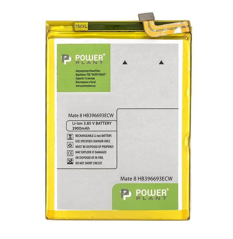 Купить Аккумулятор PowerPlant Huawei Mate 8 (HB396693ECW) 3900mAh