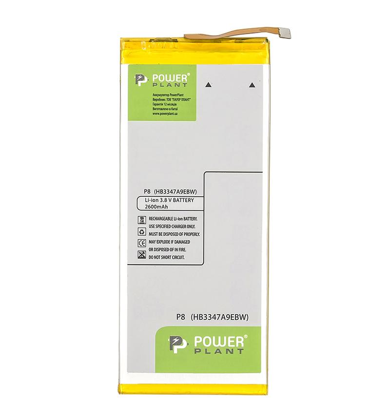Купить Аккумулятор PowerPlant Huawei P8, P8 Lite (HB3347A9EBW) 2600mAh