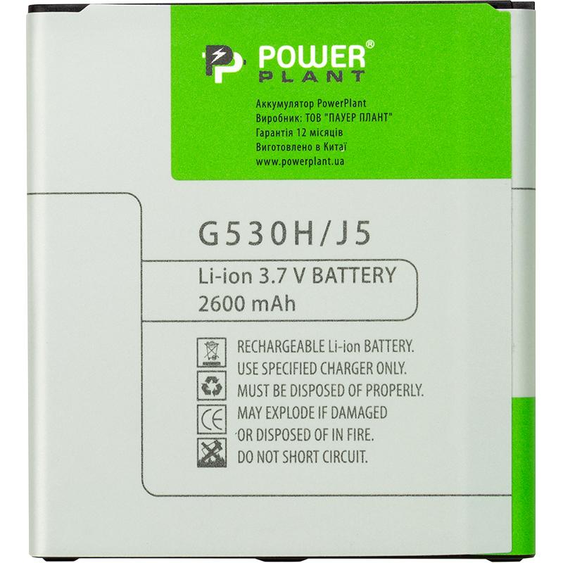 Купить Аккумулятор PowerPlant Samsung Galaxy J2 Prime / J5 (G530H) 2600mAh