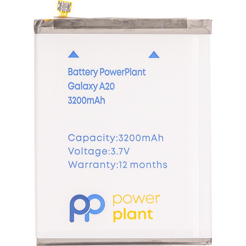Купить Аккумулятор PowerPlant Samsung Galaxy A20 (EB-BA505ABN) 3200mAh