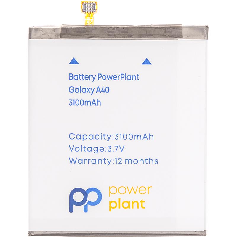 Купить Аккумулятор PowerPlant Samsung Galaxy A40 (EB-BA405ABE) 3100mAh