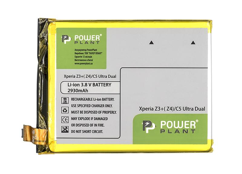Купить Аккумулятор PowerPlant Sony Xperia C5 Ultra Dual/Z3+/Z4 2930mAh