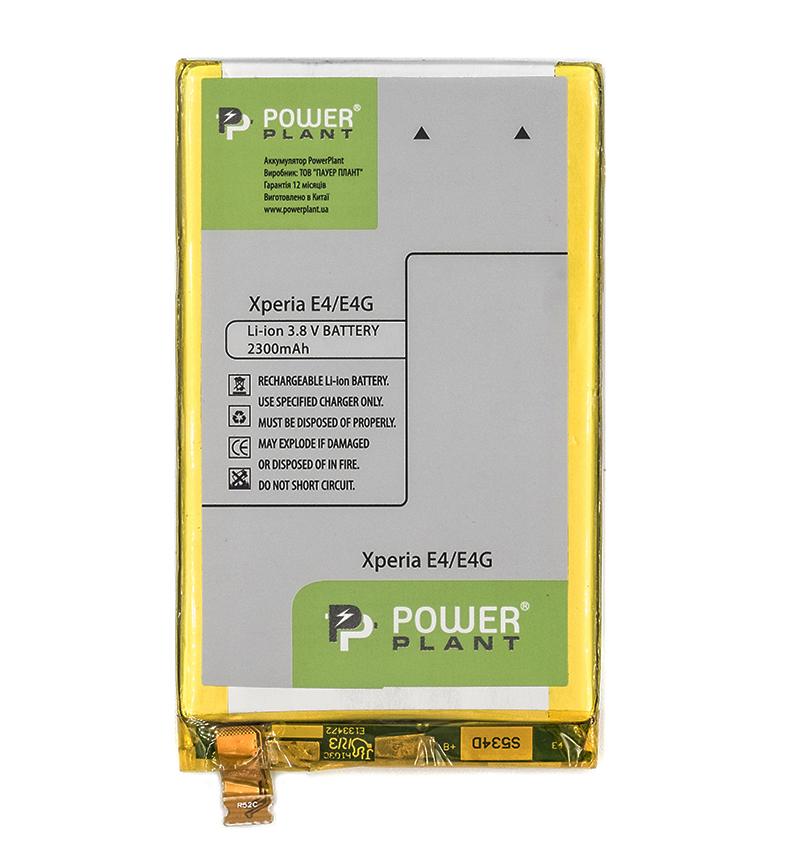 Купить Аккумулятор PowerPlant Sony Xperia E4/E4G (LIS1574ERPC) 2300mAh