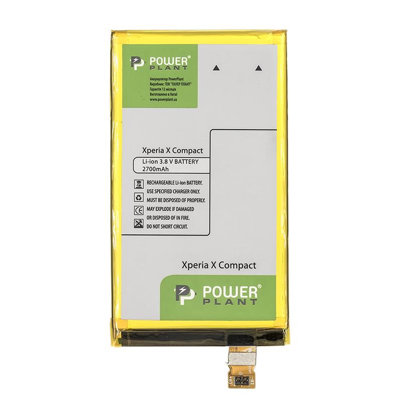 Купить Аккумулятор PowerPlant Sony Xperia X Compact (LIS1634ERPC) 2700mAh