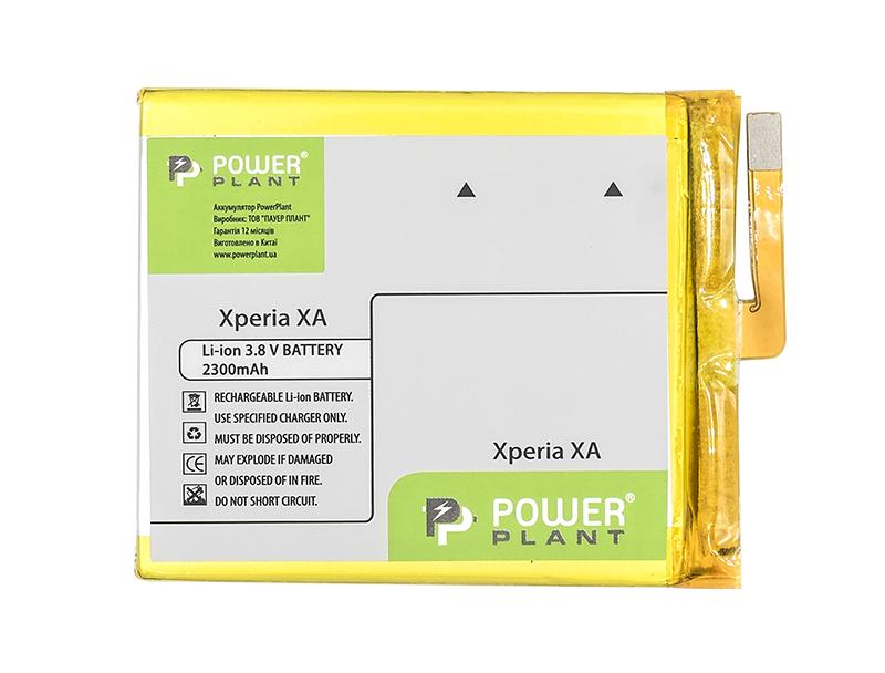 Купить Аккумулятор PowerPlant Sony Xperia XA (LIS1618ERPC) 2300mAh