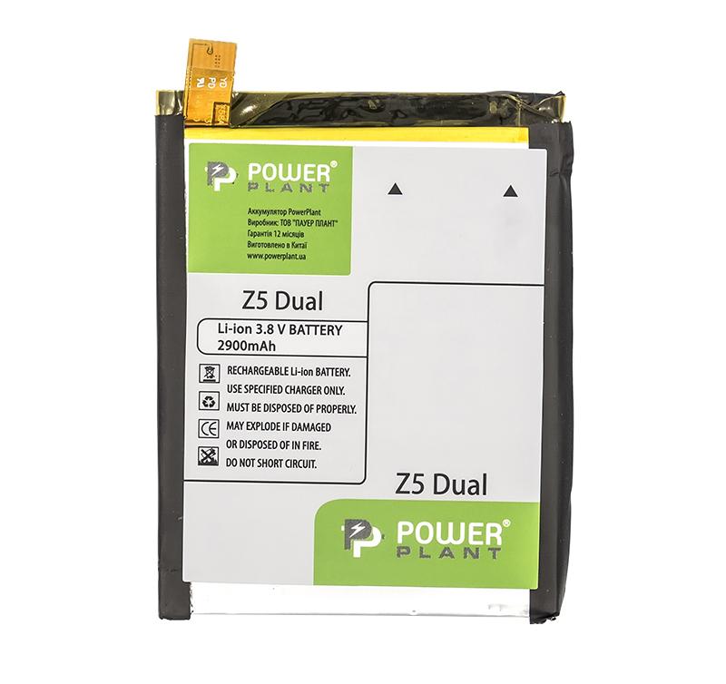Купить Аккумулятор PowerPlant Sony Xperia Z5 Dual (LIS1593ERPC) 2900mAh