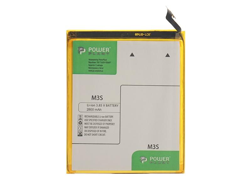Купить Аккумулятор PowerPlant Meizu M3S (BT15) 2800mAh