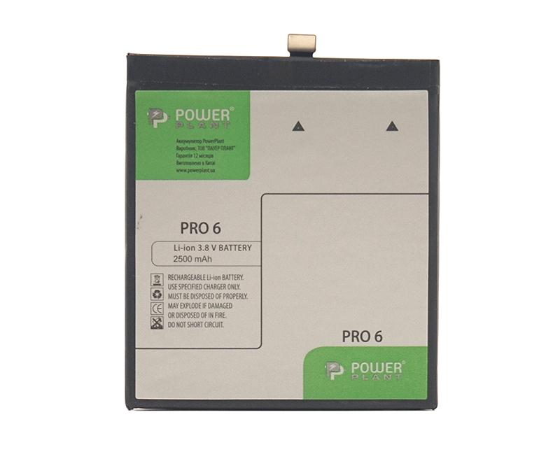 Купить Аккумулятор PowerPlant Meizu Pro 6 (BT53) 2500mAh