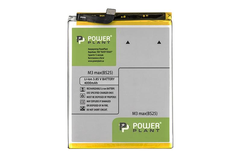 Купить Аккумулятор PowerPlant Meizu M3 Max (BS25) 4000mAh