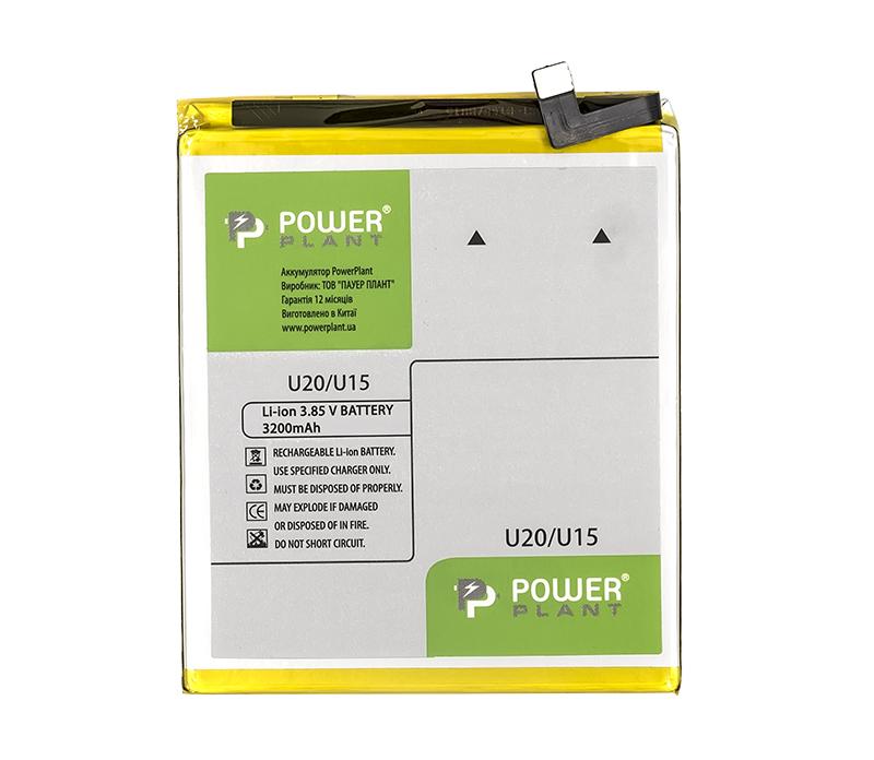 Купить Аккумулятор PowerPlant Meizu U20 (BU15) 3200mAh