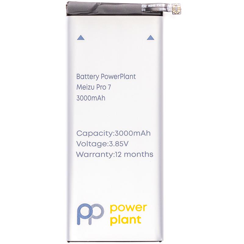 Купить Аккумулятор PowerPlant Meizu Pro 7 (BA792) 3000mAh
