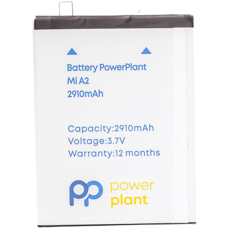 Купить Аккумулятор PowerPlant Xiaomi Mi A2 (BN36) 2910mAh