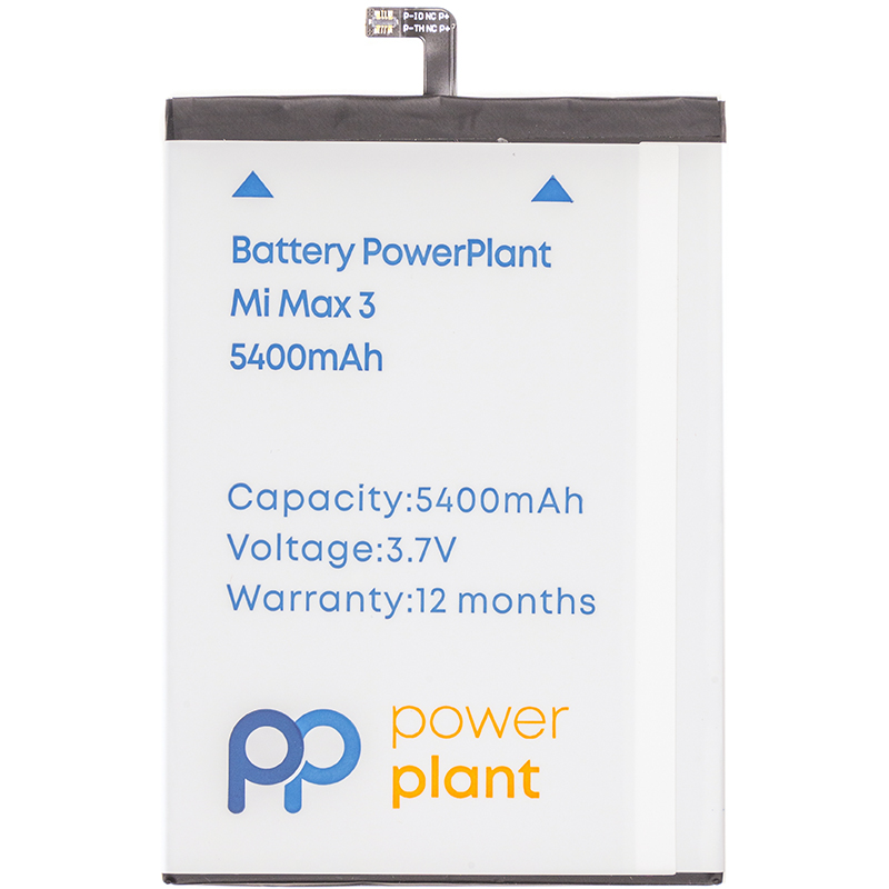 Купить Аккумулятор PowerPlant Xiaomi Mi Max 3 (BM51) 5400mAh