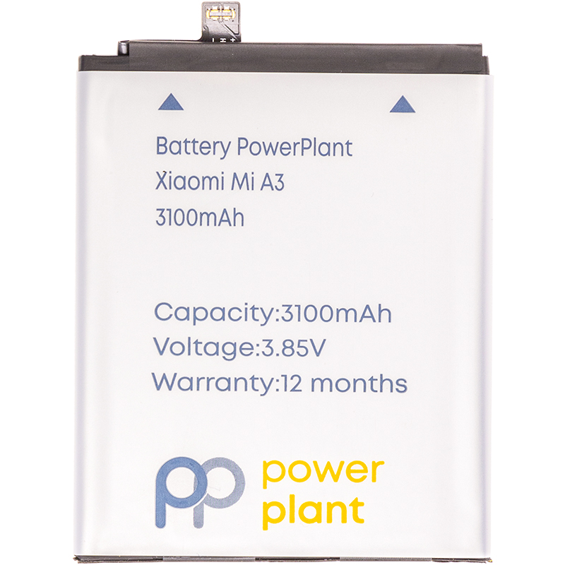 Купить Аккумулятор PowerPlant Xiaomi Mi A3 (BM4F) 3100mAh