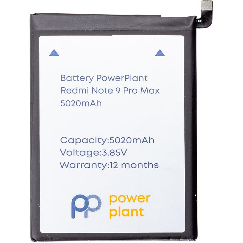Купить Аккумулятор PowerPlant Xiaomi Redmi Note 9 Pro Max