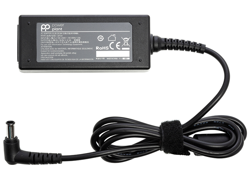 Купить Блок питания для ноутбуков PowerPlant SONY 220V, 19.5V 45W 2.3A (6.5*4.4)
