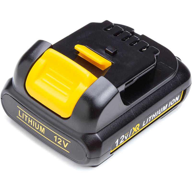 Купить Аккумулятор PowerPlant для шуруповертов и электроинструментов DeWALT 12V 2.0Ah Li-ion (DCB120)