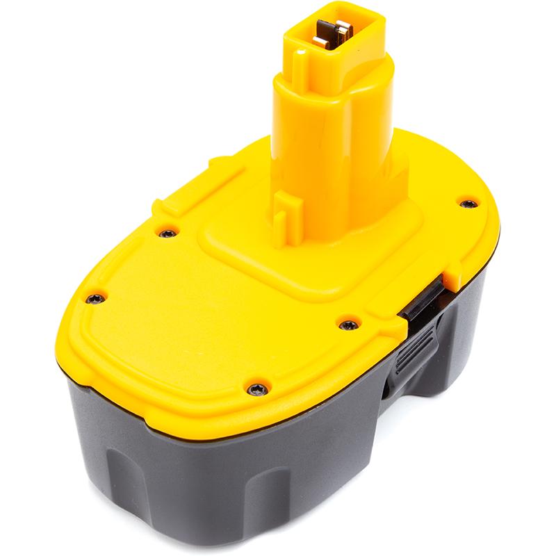 Купить Аккумулятор PowerPlant для шуруповертов и электроинструментов DeWALT 18V 2.5Ah Ni-MH (DC9096)