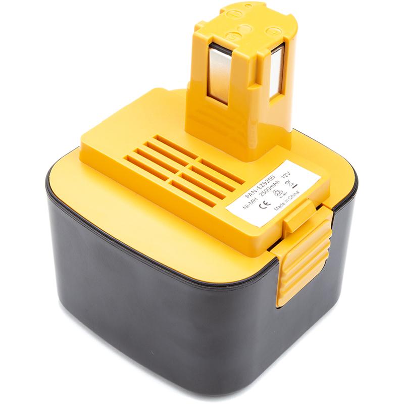 Купить Аккумулятор PowerPlant для шуруповертов и электроинструментов PANASONIC 12V 2.5Ah Ni-MH (EY9200)