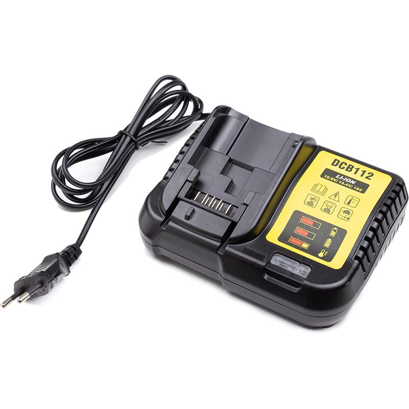 Купить Зарядное устройство PowerPlant для шуруповертов и электроинструментов DeWALT 10.8-18V (DEW-DCB112)