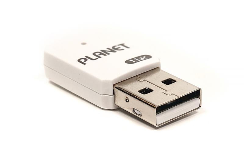 Купить Двухдиапазонный беспроводной USB-адаптер Planet WDL-U601AC (Wi-Fi, 433Mbps)