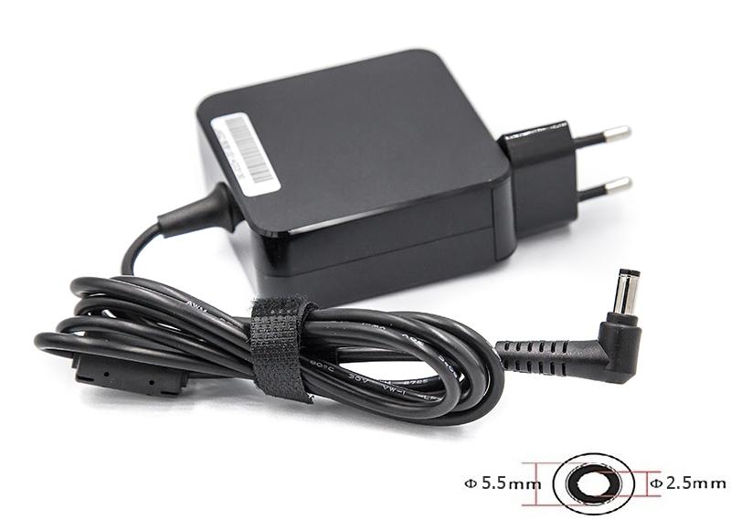 Купить Блок питания для ноутбуков PowerPlant ACER, ASUS 220V, 19V 65W 3.42A (5.5*2.5) wall mount