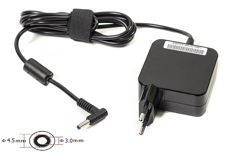 Купить Блок питания для ноутбуков PowerPlant HP 220V, 19.5V 45W 2.31A (4.5*3.0) wall mount