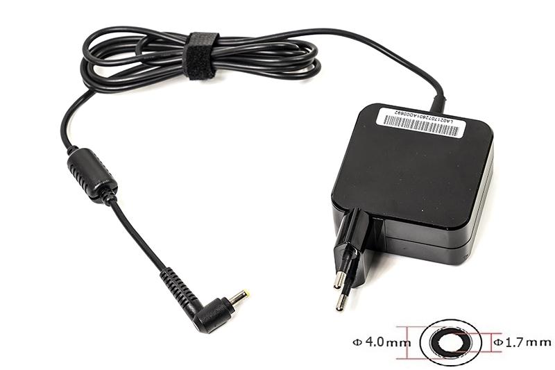 Купить Блок питания для ноутбуков PowerPlant IBM/LENOVO 220V, 20V 45W 2.25A (4.0*1.7) wall mount