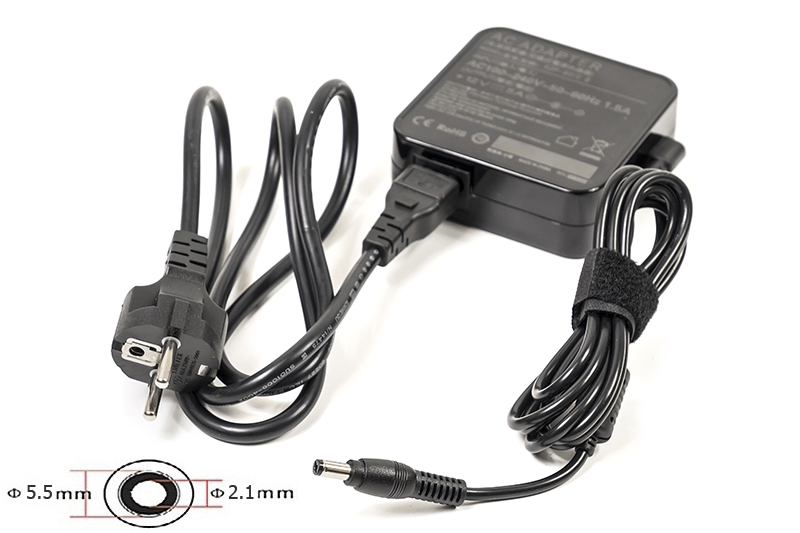 Купить Универсальный блок питания PowerPlant 220V, 12V 60W 5A (5.5*2.1) wall mount