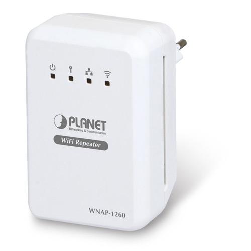 Купить Универсальный WiFi Repeater / маршрутизатор Planet WNAP-1260 (300Mbps 802.11n)